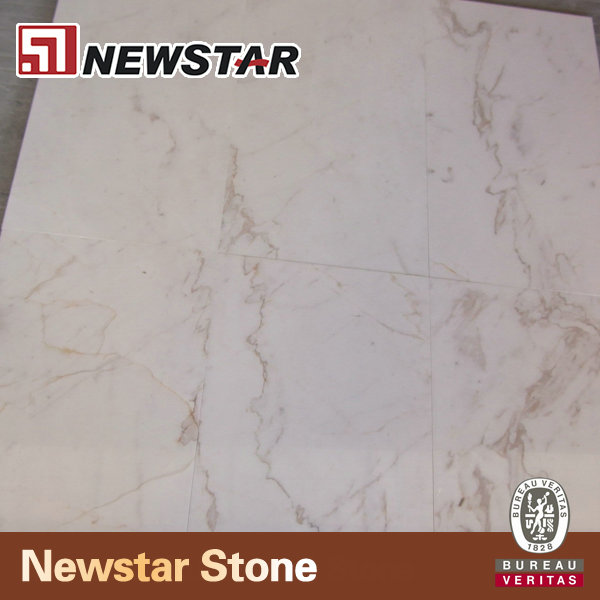 Polished Surface Natural Stone Imported Marble White Carrara Volakas Marble