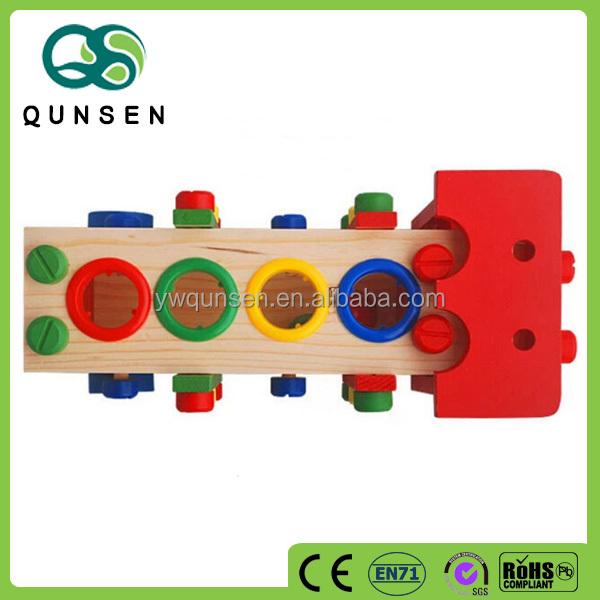 Best Selling Fully Assembled Wooden Educational Car Korean Toy For Children