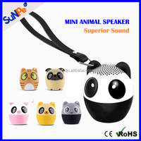 Fashion Mini Cute Panda Animal Style Bluetooth Speaker Subwoofer for Gift