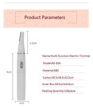Best Price Multi-Function Battery Operated Electric Eyebrow Nose Trimmer
