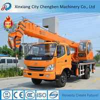 Latest Design 16 ton Truck Crane with Competitive Price