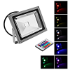 rgb high power color changing outdoor 20w led flood light