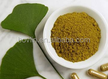 Bolin Supply Ginkgo Biloba Leaf Extract Powder Flavonoids 24% Lactone 6%
