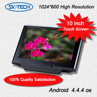 10.1 Inch TFT LCD Digital Screen Universal Car Headrest DVD Player Multimedia Monitor with IR FM transmitter