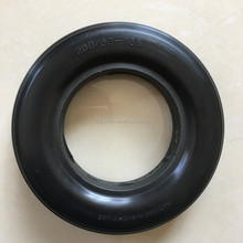 High quality hot sale PU foam solid rubber coated wheel