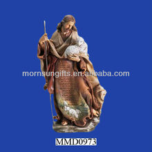 Jesus Christ the Good Shepherd figurine