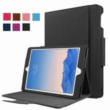 PU Leather Stand Folio Case Cover for Apple iPad Pro 9.7 With Keyboard Pocket