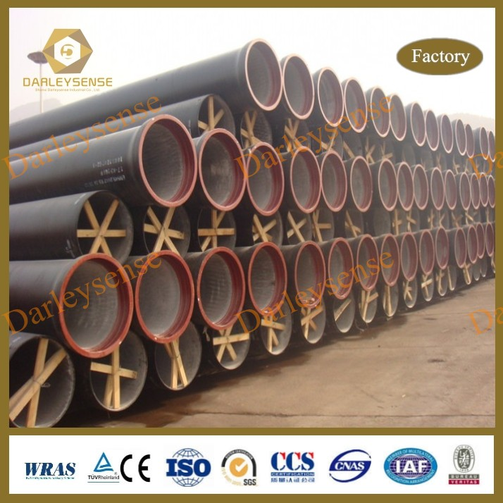 Good Price with Excellent Quality as per ISO2531 / EN545 / EN598 Ductile Iron Pipe