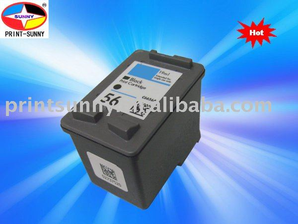 compatible ink Cartridge for HP56/HP6656A