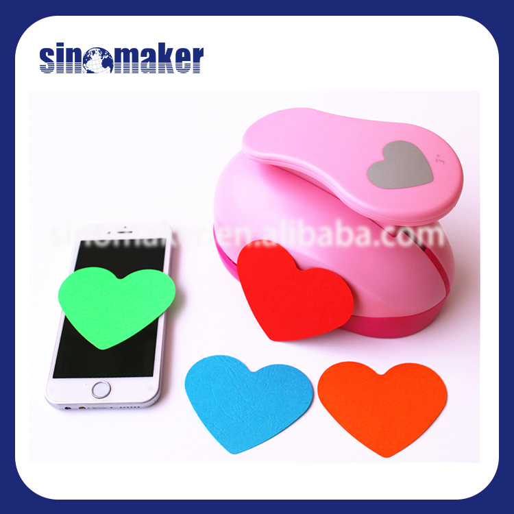 China supplier lever handmade plastic paper punch craft for eva foam