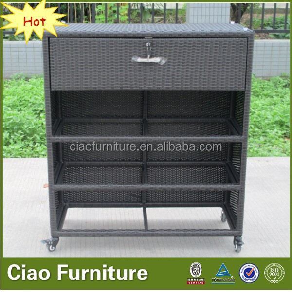 Furniture partition rattan Living Room Cabinets