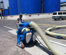 high quality portable sand blasting machine/concrete floor blast cleaner