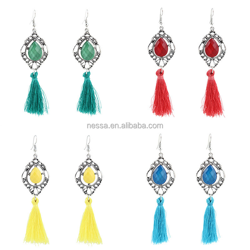 Fashion Tassel Earring Jewelry Manufacturer Usa wholesale NSZQ-0084