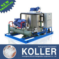 5 tons flake ice maker machinery with fishing boats for sale in Maldives from China Koller