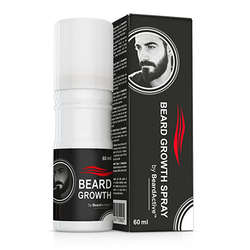 Beard Growth Spray 60ml Beard Grow Stimulator 100% Natural Accelerate Beard Growth Oil Facial Hair Grower