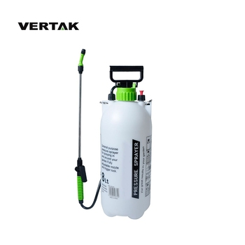 VERTAK Lawn and garden 8L garden pressure sprayer for fruit tree and orchard