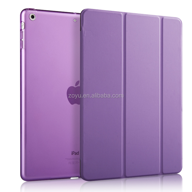For IPad Air2Leather Case , For PU Table Cover IPad Air2, For IPad Air 2 Shockproof Case