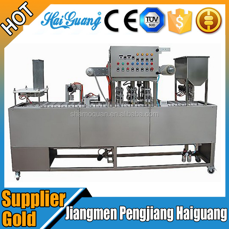 China Factory Cup Thermoforming Filling Sealing Cutting Machine