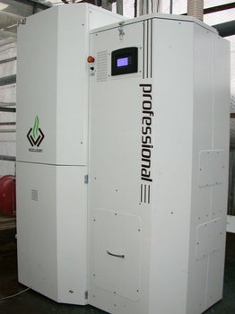 Wood Pellet Boiler With Ash Removal System