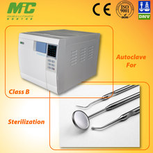 A77. MIC 16L/18L/23L Class B Dental Autoclave European Standard with USB and Printer for Data output