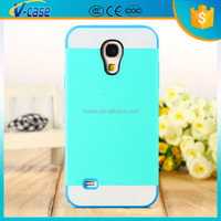 VCASE 2 in 1 Colorful Soft Silicone + PC Hard Hybrid Case Cover for Samsung Galaxy S4 Mini