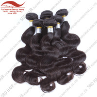 free chemical treat no tangle no shedding body wave virgin brazilian hair weave