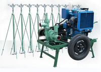 Sprinkler irrigation equipment unit mobile agricultural machinery 17.6CP-50 new -type lift 50 m