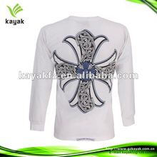 2012 newly design men's round neck long sleeve round neck t-shirt