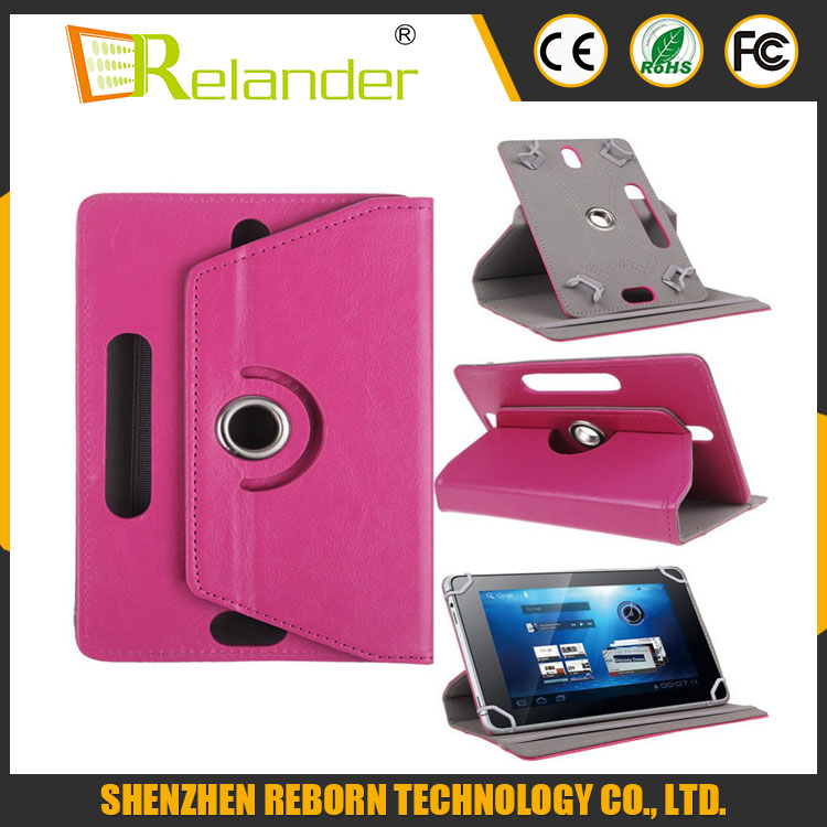 Best Leather Case For Tablet 360 Degree Rotate Leather Case Cover Stand for Universal Android Tablet