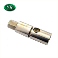 High precision stainless steel machining part cnc milling mini machine parts for industry