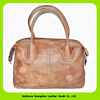15052 Retro and large capacity women's leather travel bag