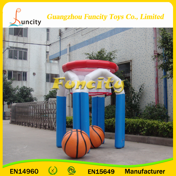 0.9 mm PVC Tarpaulin Inflatable Basketball Hoop,Basketball Shooting,Inflatable Toss Sport Game