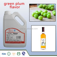 Fruit Flavors Green Plum Flavour Concentrate For Wine/Beverage
