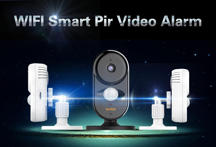 serve high quality wifi alram system home security with App support remote control