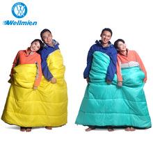 Waterproof Light Weight Down-Like Synthetic Fibre Cotton Sleeping Bag