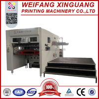 XMB-1520 used Hand fed die cutting and creasing machine for bottle carton