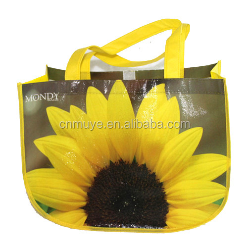 high quality promotion laminated nonwoven shopper bag