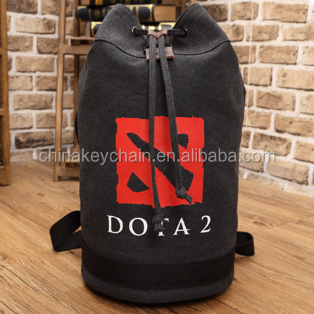 Classic Dota 2 Logo Bag Backpack Canvas Bags