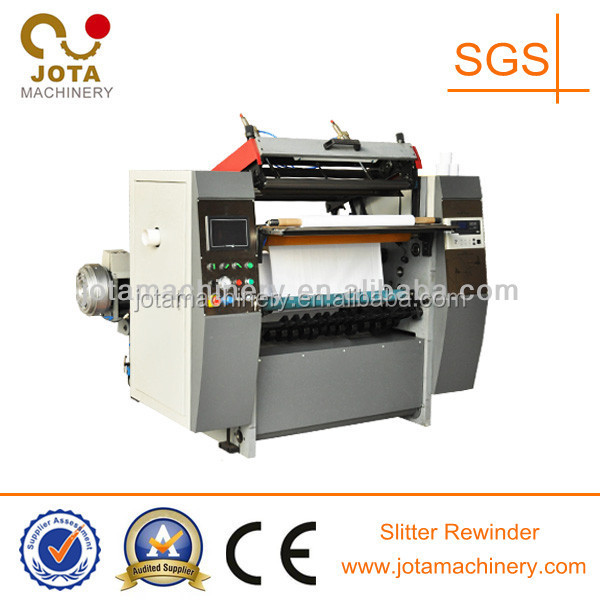 Thermal Paper Slitting and Rewinding Machine, Carbonless Paper Slitting Rewinder,Bond Paper Slitter Rewinder