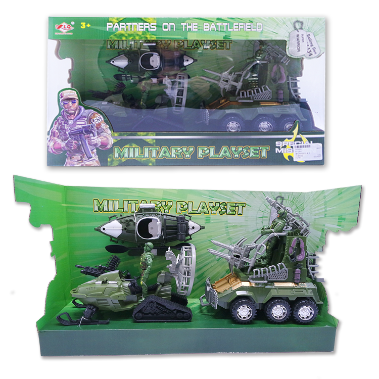 Chenghai Pretend Play Wholesale Military Toys Set