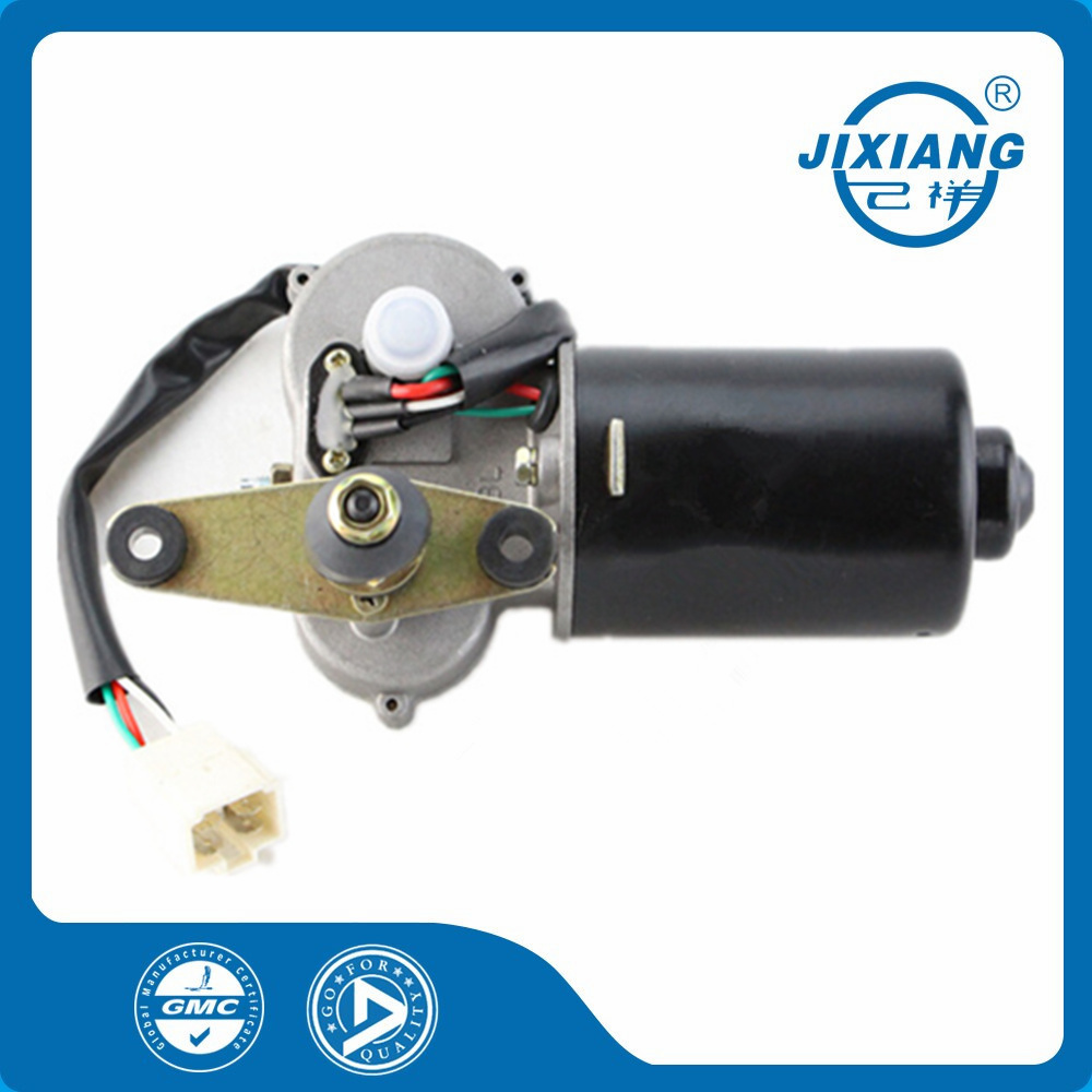 Four Wire Single Speed Negative Charged Iron Gear Wiper Motor For Agricultural Electric Tricycle Carriage