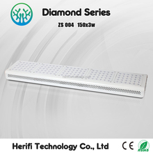 3w chip modular system hydroponic high par value led grow lights lettuce/tomato/flowering vegetative growing lamps 1200w