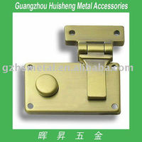 Zinc alloy handbag lock with high quality wholesale zinc alloy case lock
