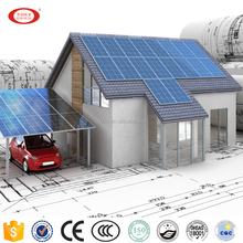 1kw2kw3kw4kw5kw Off-Grid solar home system With battery and high efficiency solar panel