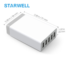 ZX-5U01QC Qualcomm Quick charge 3.0 usb wall charger qc3.0 with 18 watt qc 3.0 and 5v 7a usb charger