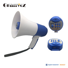 45w portable waterproof professional car megaphone with police siren