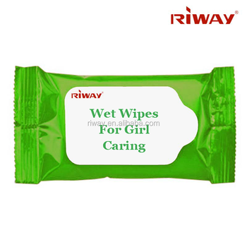 Custom women skin care wet wipe, wet wipes for girl caring