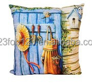 Made in China sublimated appliqued embroidered pillows cushion