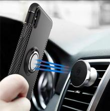 360 rotating Magnetic Car mount Holder Mobile Phone Case For Apple Iphone 8