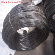Different size black annealing wire iron rod, low price annealed binding wire